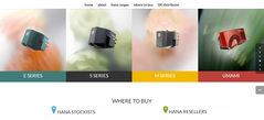 NEW UK web site for Hana cartridges