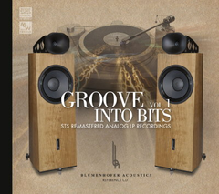 Groove into Bits - The best sounding CD ever?