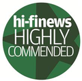 Hi-Fi News and Record Review's 'Highly Commended' award